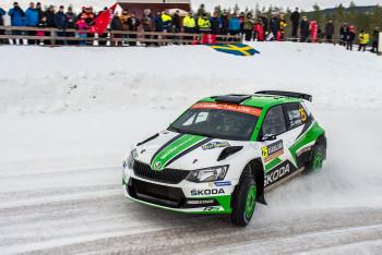 Skandinávské tance na ledu to byla Rally Sweden 2019