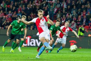 Za deset minut po hodině trápení Slavia rozhodla.  Slavia Praha - Příbram 3:1