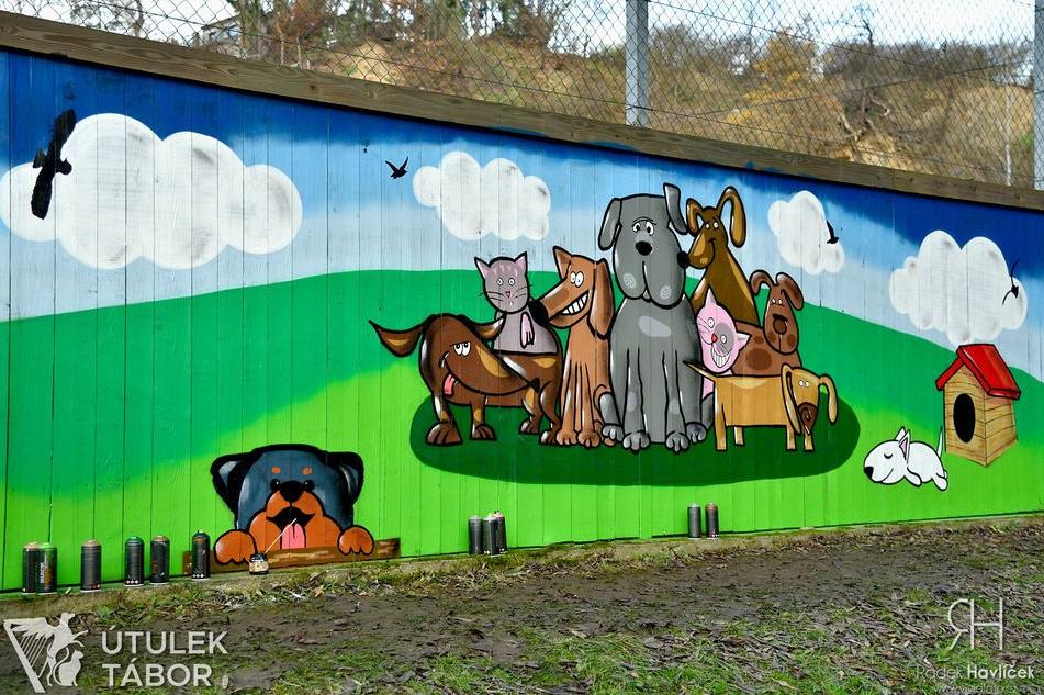 Není sprejer jako sprejer aneb Útulek získal graffiti