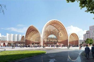 Nové hlavní nádraží v Brně. Vyhráli nizozemští architekti