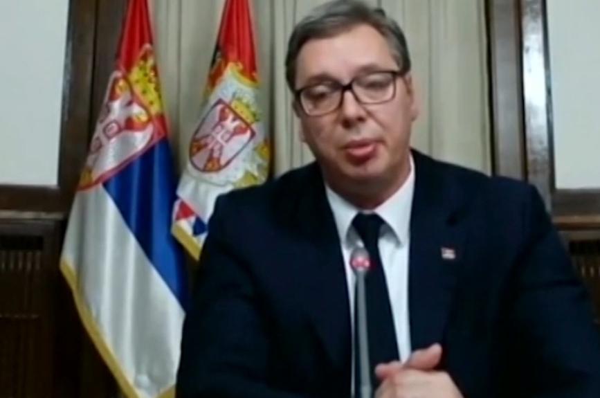 Vucic Stoltenbergovi: Počkáme 24 hodin na vás, jinak Srbsko zareaguje